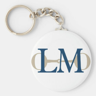 Lisa Molloy Training Stables logo keychain