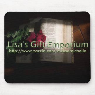 Lisa's Gift Emporium Mousepad