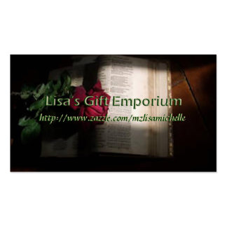 Lisa's Gift Emporium Profile Card Pack Of Standard Business Cards
