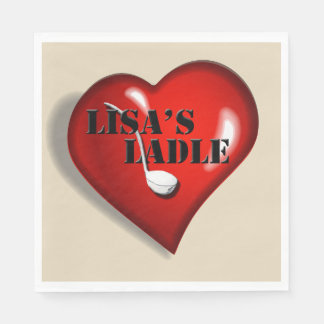 Lisa's ladle luncheon napkins disposable napkin