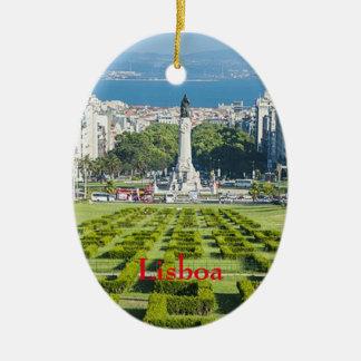 Lisboa* Marqûes Pombal Christmas Ornament
