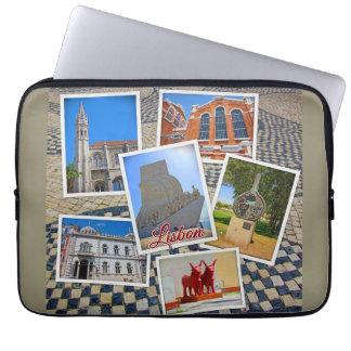 Lisbon Jeronimos Monastery & Discoveries Monument Laptop Sleeve