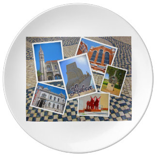 Lisbon Jeronimos Monastery & Discoveries Monument Plate