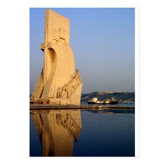 Lisbon postcard, Age of Discoveries Monument