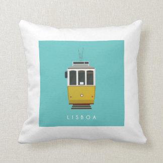 Lisbon Tram Pillow