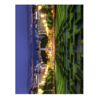 Lisbon view 001 postcard
