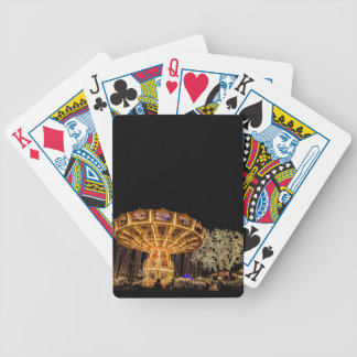 Liseberg theme park bicycle playing cards
