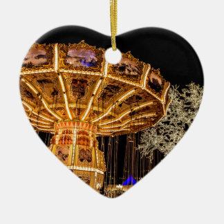 Liseberg theme park ceramic heart decoration
