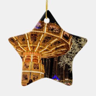 Liseberg theme park ceramic star decoration