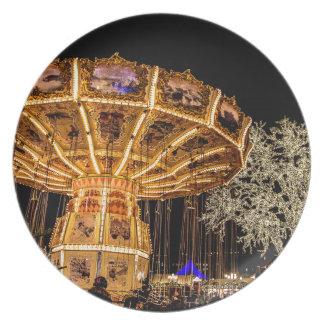 Liseberg theme park plate