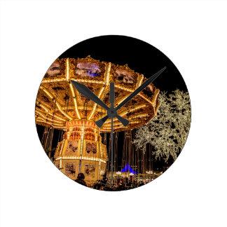 Liseberg theme park round clock
