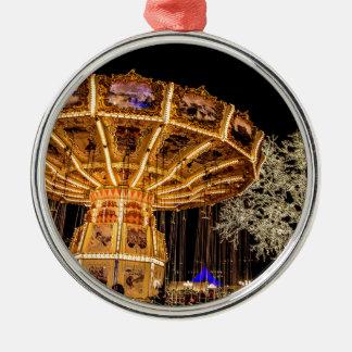 Liseberg theme park Silver-Colored round decoration