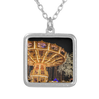 Liseberg theme park silver plated necklace
