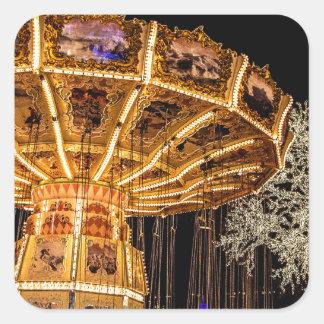 Liseberg theme park square sticker