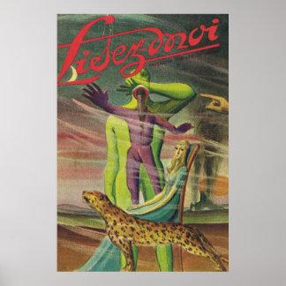 Lisez Moi cover;Jungle adventure Poster