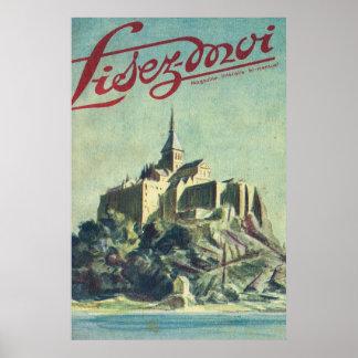 Lisez Moi cover; Mont St Michel Poster