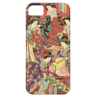 List of Noble Ladies by Toyohara Chikanobu iPhone 5 Case