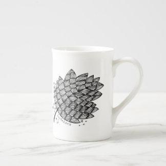 Listakora Leaf Bone China Teacup Tea Cup