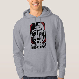 Listen BOY Clothing with Attitude Hoodie