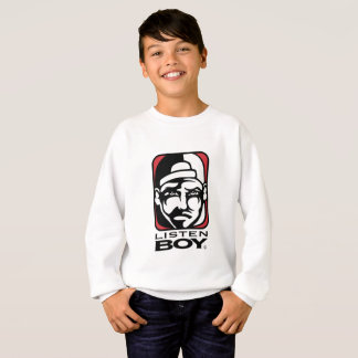 Listen BOY Clothing with Attitude Sweatshirt