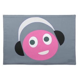 listen  music placemat