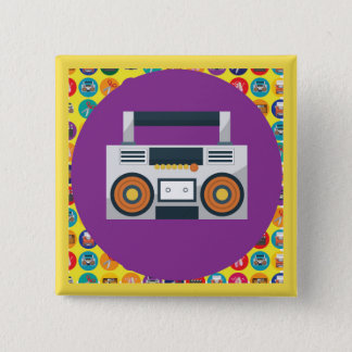 LISTEN* Square Pin [It's-Your-Stories Series]