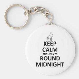 Listen to Round Midnight Keychains