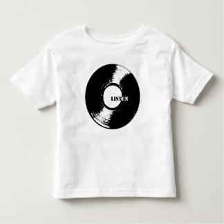 Listen Vinyl Toddler T Toddler T-Shirt