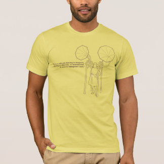Listening to view points Tshirt