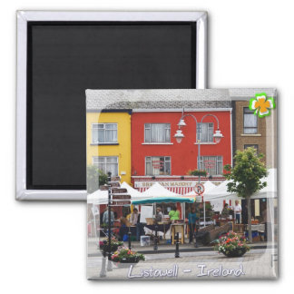 Listowell Market Square Magnet