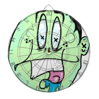 Lit face dartboard