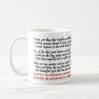Lit Geek Dante Longfellow - Mug