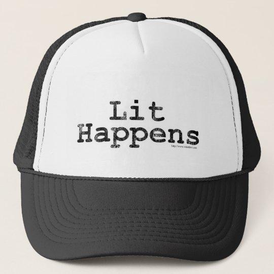 Lit Happens! Trucker Hat