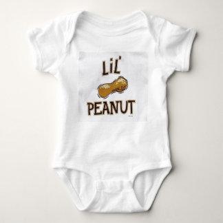 lit peanut onsie baby bodysuit