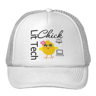 Lit Tech Chick Trucker Hat