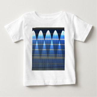Lit up Blue Building Block 2 T Shirt
