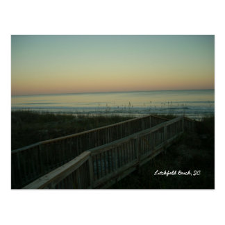 Litchfield Beach, South Carolina- Sunset Postcard