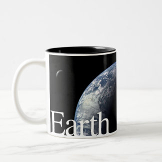 LITD Planet Mug: Earth Two-Tone Coffee Mug