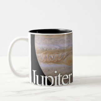 LITD Planet Mug: Jupiter Two-Tone Coffee Mug