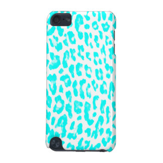 Lite Blue Leopard Print iPod Touch (5th Generation) Case