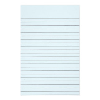 Lite Blue Lined Stationery