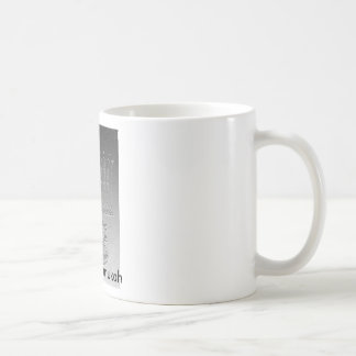 Lite the Chanukah candles Basic White Mug
