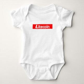 Litecoin Red Box Digital Revolution - Funny LTC Sh Baby Bodysuit