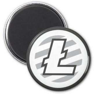 LiteCoin Round Magnet