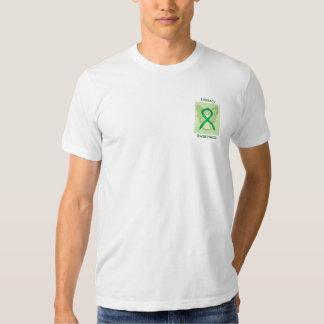 Literacy Awareness Green Ribbon Angel Custom Tee