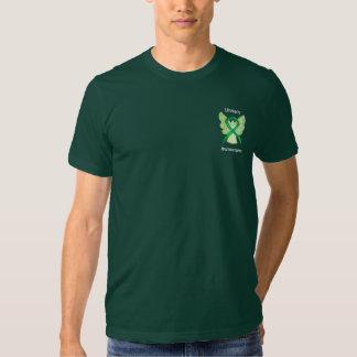 Literacy Awareness Ribbon Angel Custom Shirts