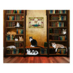 Literary cats posters