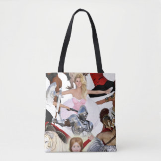 Literary Classics and Fictional Characters Dreamed Tote Bag