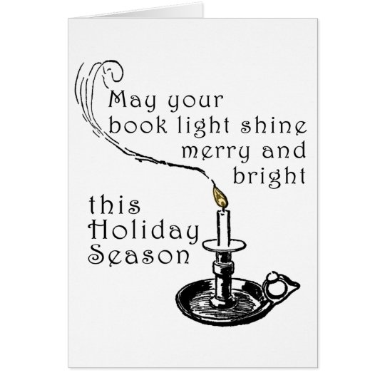 Literary Holiday Card
