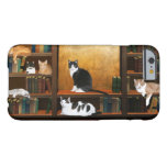 Literary kitty cats barely there iPhone 6 case